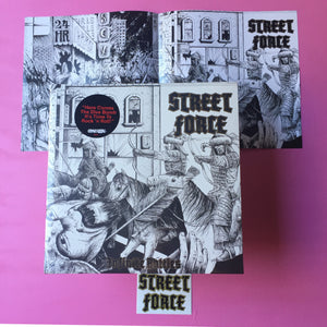 Street Force - Infinite Battles LP (Brave Ulysses, 2018)