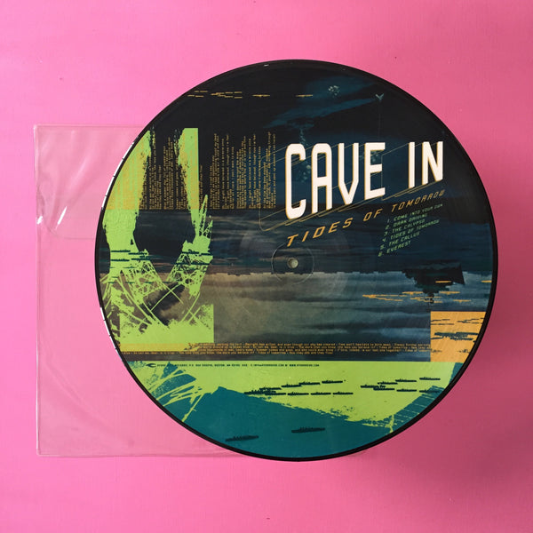 Cave In - Tides of Tomorrow LP (Hydra Head, 2002)