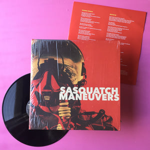 Sasquatch - Maneuvers LP (Mad Oak, 2017)