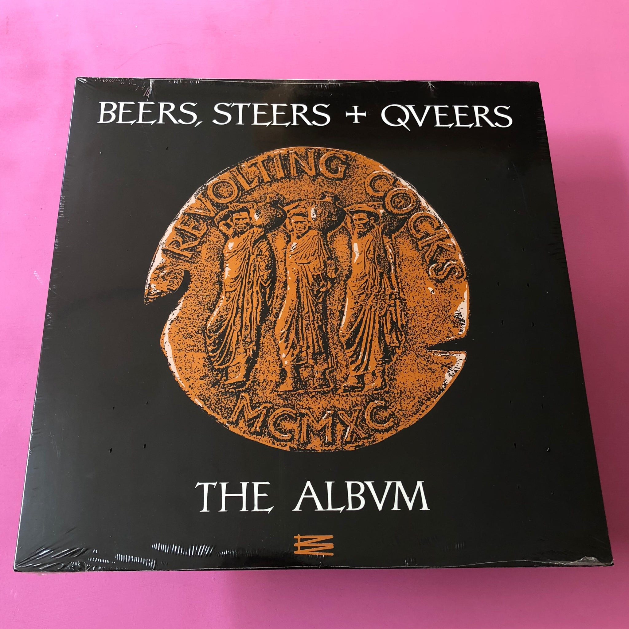 Revolting Cocks - Beers, Steers + Qveers The Albvm LP (Cleopatra, 2014)
