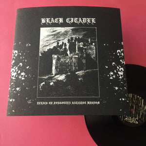 Black Citadel - Relics of Forgotten Satanic Wisdom LP