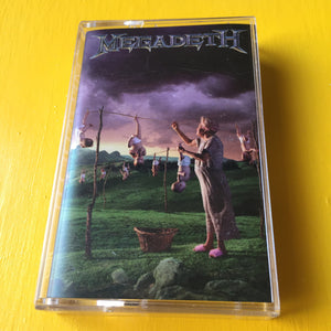 Megadeth - Youthanasia CS