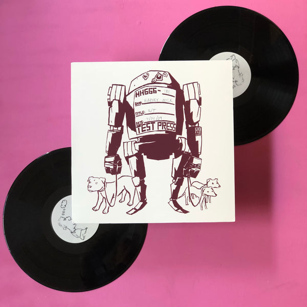 Harvey Milk - s/t LP(Hydra Head, 2009)