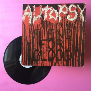 Autopsy - Fiend For Blood LP