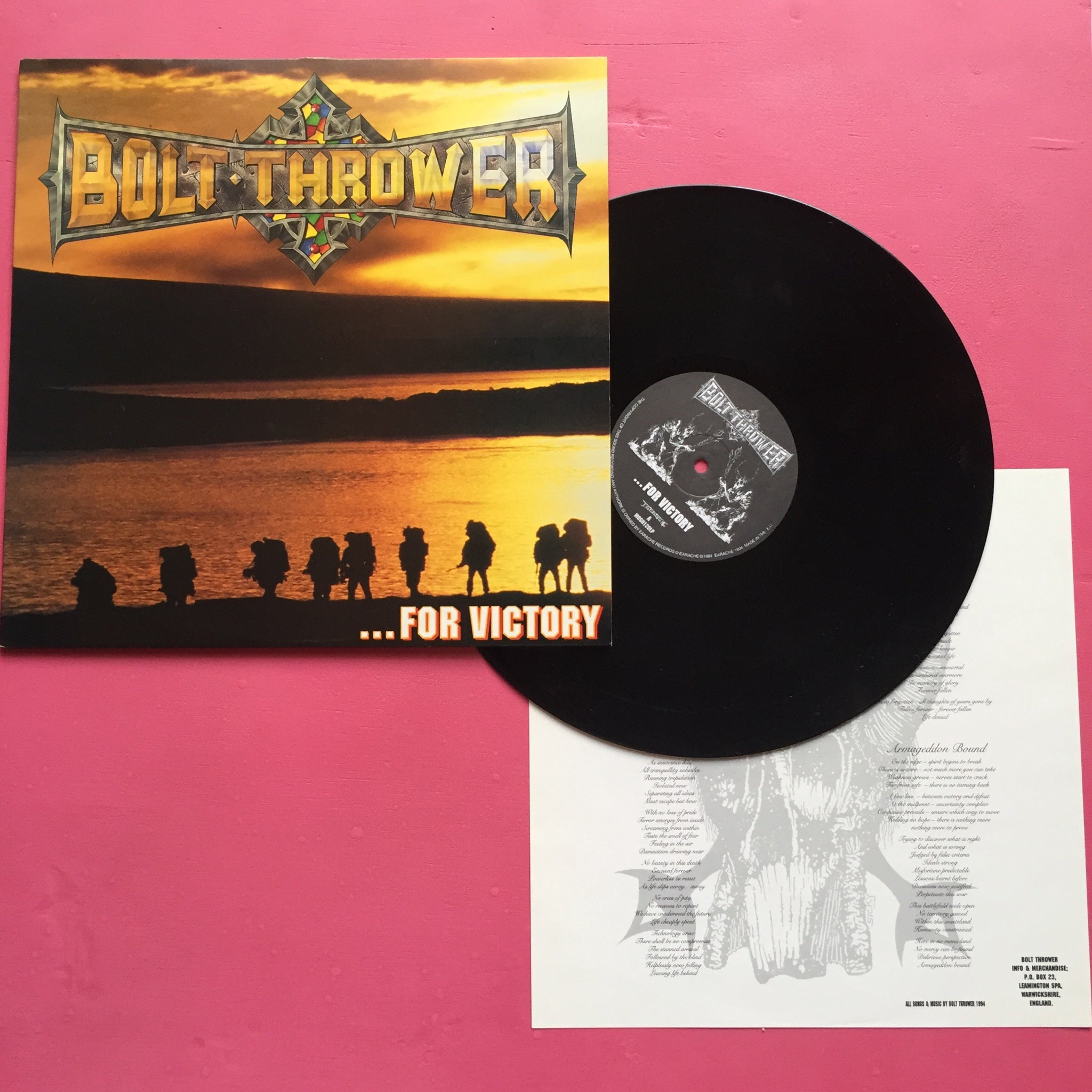 Bolt Thrower - ...For Victory LP