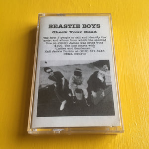 Beastie Boys - Check Your Head Promo CS