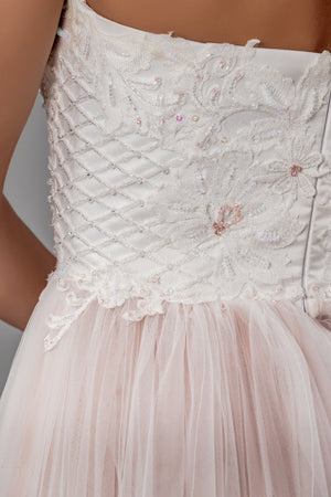 Primrose Gown - Blush Two-Tone