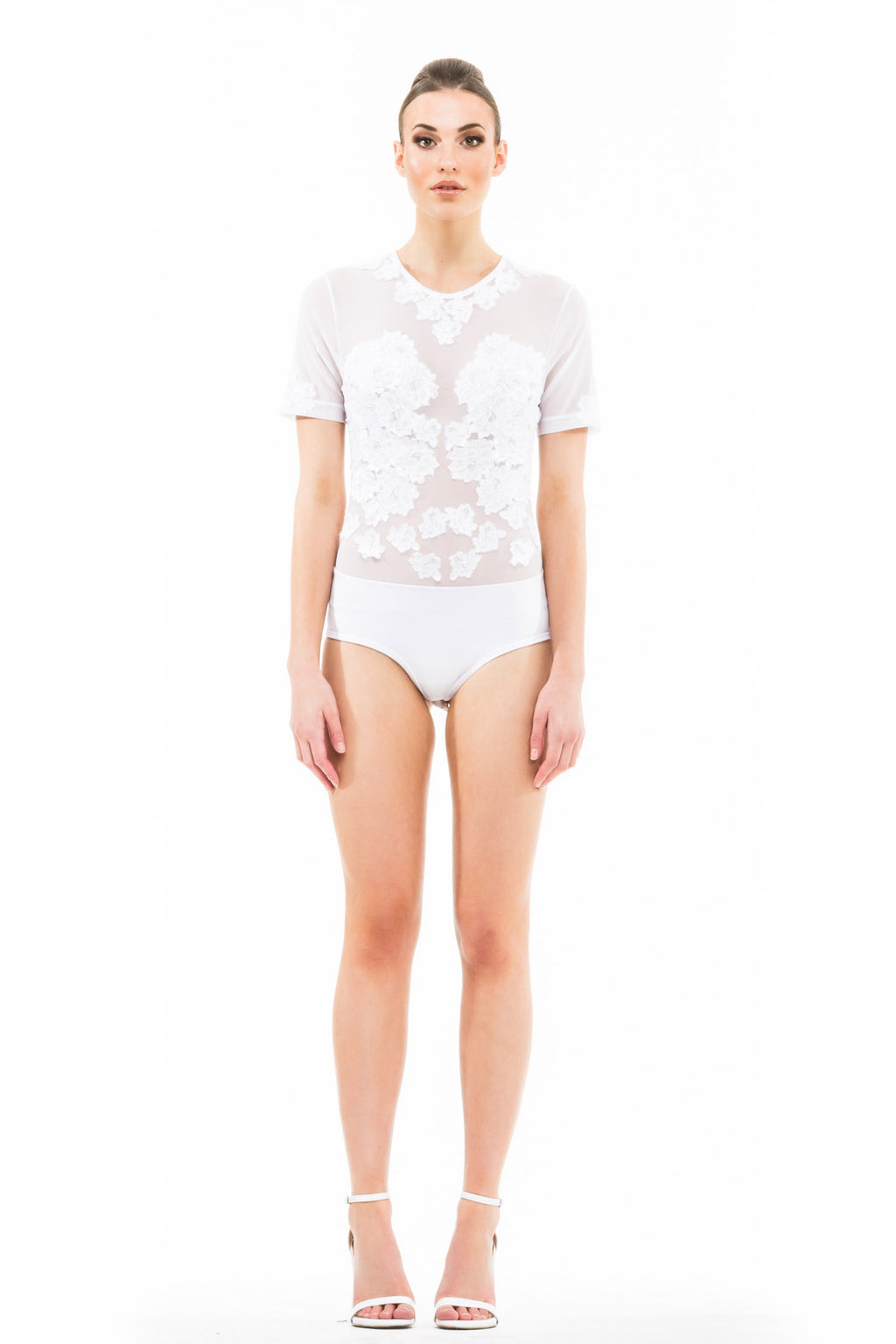 Ethereal Bodysuit - White