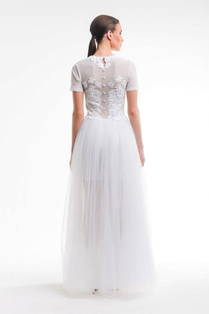 Ethereal Gown - White