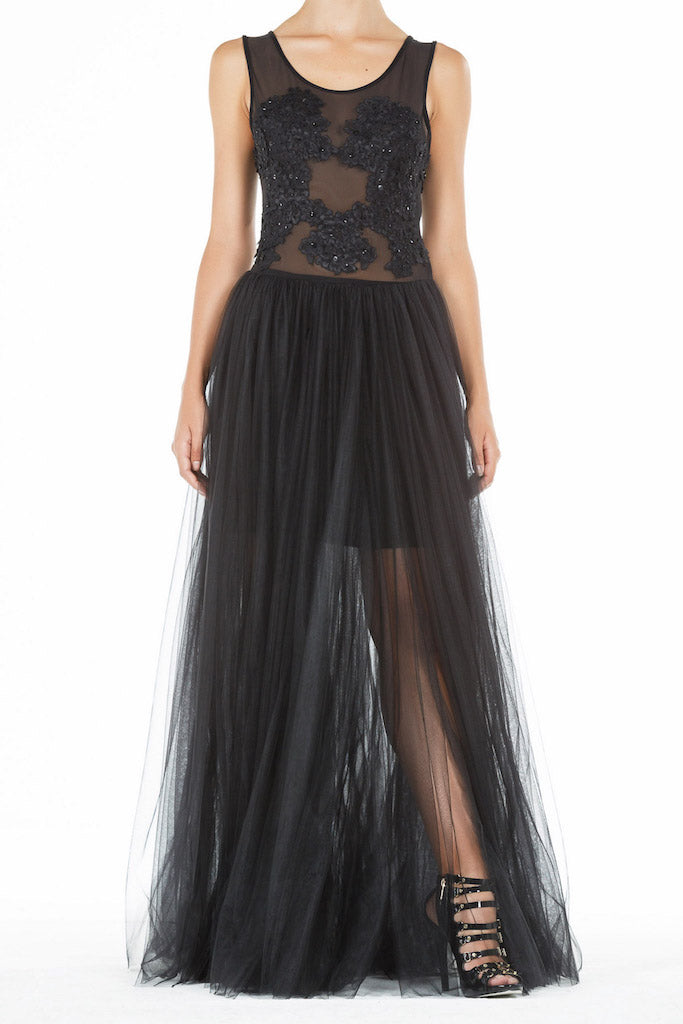 Mystic Gown - Black