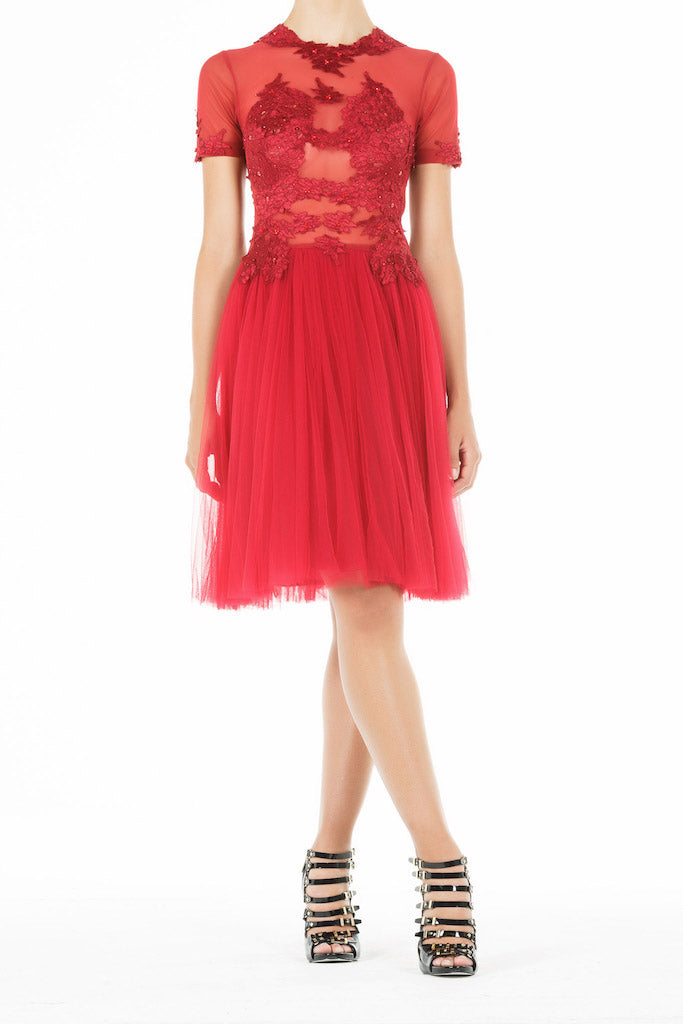 Ethereal Dress - Ruby