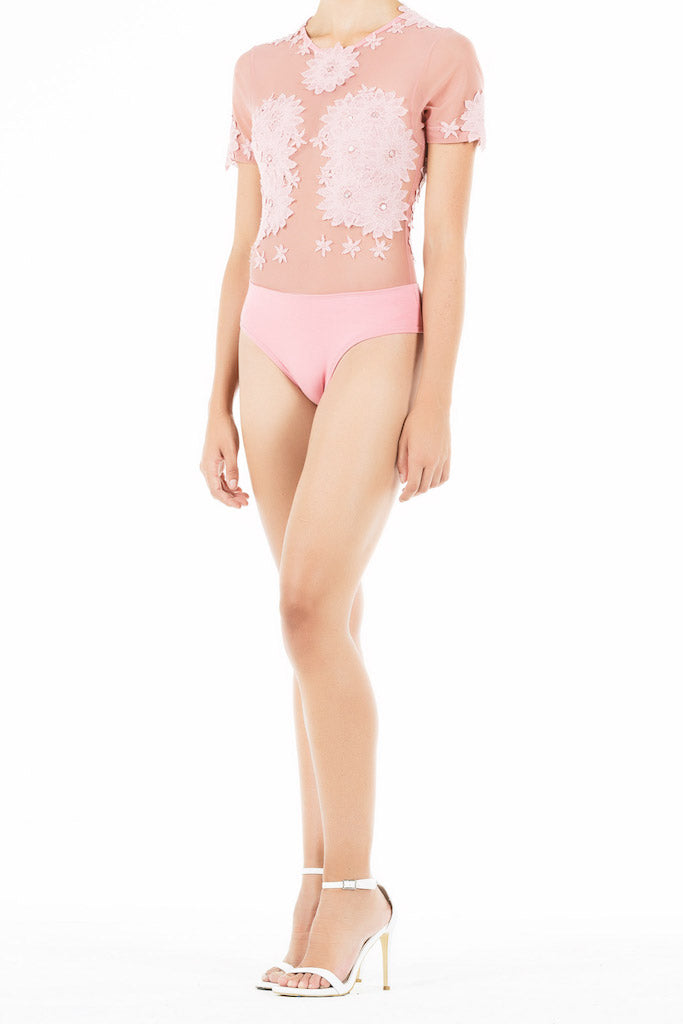 Ethereal Bodysuit - Blush