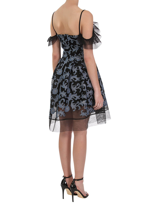 Daydreamer Dress - Black/Denim