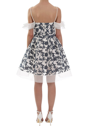 Daydreamer Dress - White/Denim
