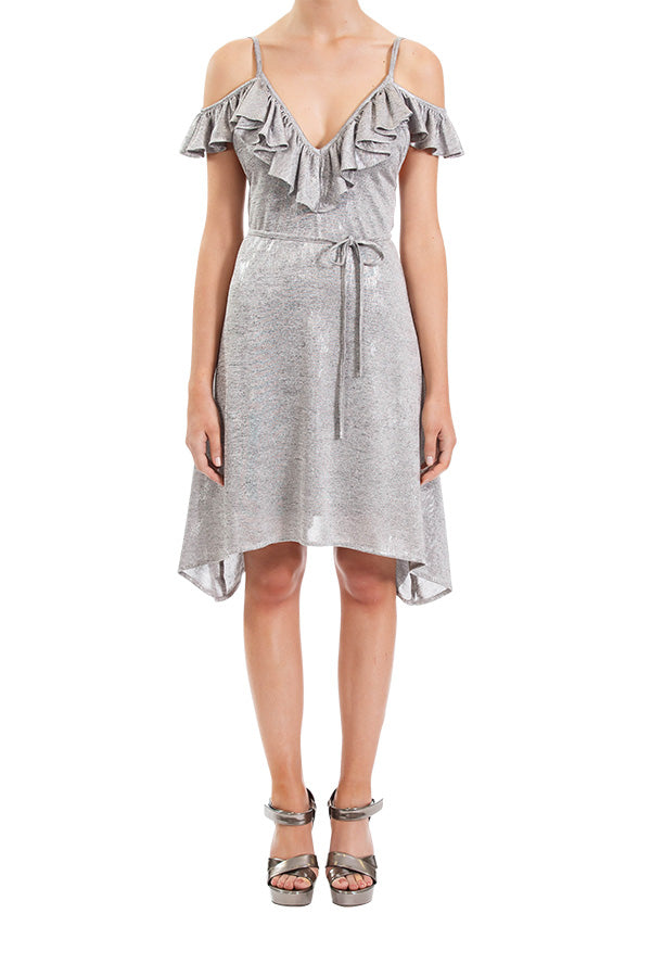 Growing Affection Dress - Grey/Silver