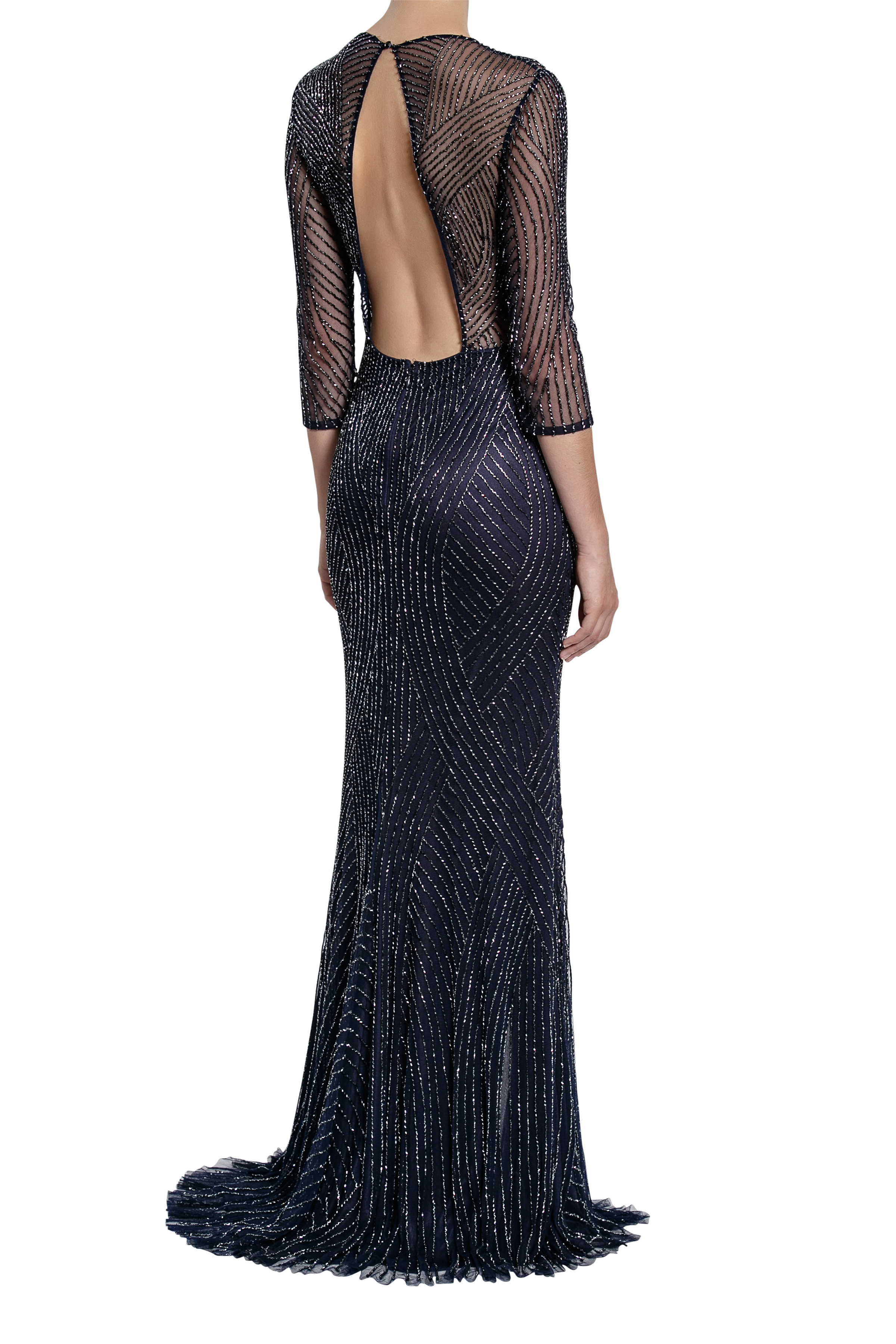 Curator Gown - Midnight Blue