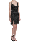 Starry Night Dress - Black / White
