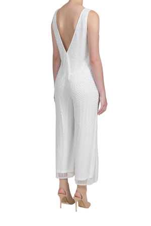 Amplify Jumpsuit - Pearl White