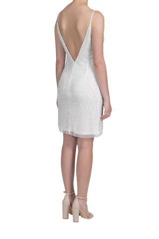 Starry Night Dress - Pearl White