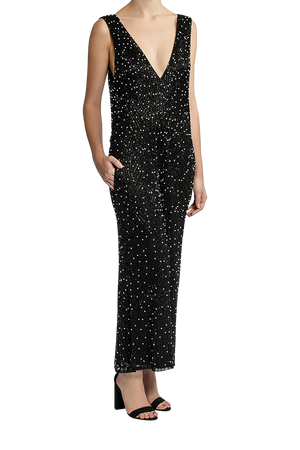 Amplify Jumpsuit - Black/White