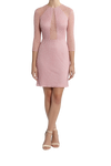 Curator Dress - Ebony Pink