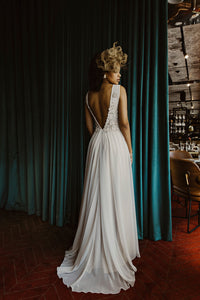 Kimberley Gown - Champagne Gold Two-Tone