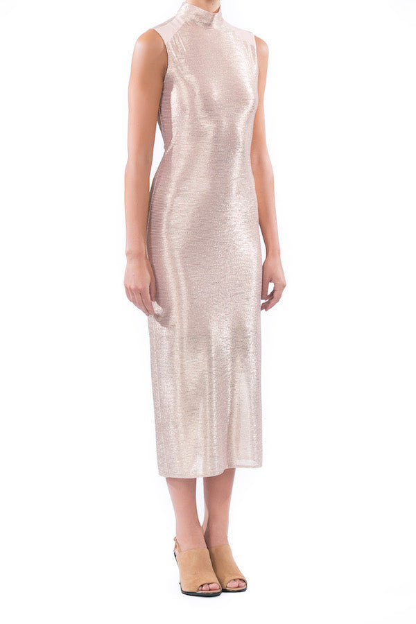Marcasite Dress - Rose Gold