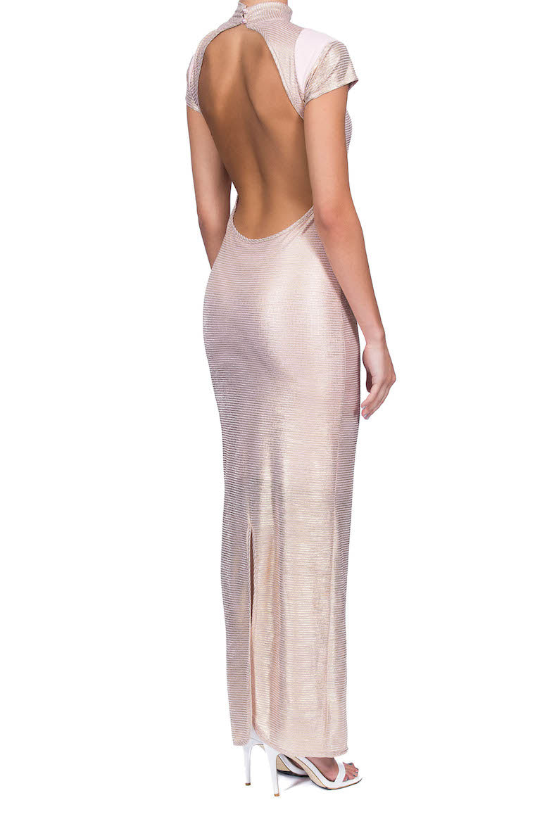 Dion Gown - Rose Gold