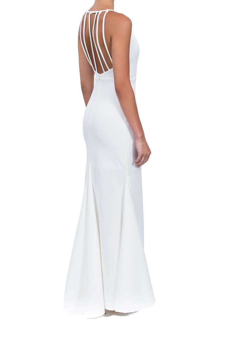Imperial Gown - White