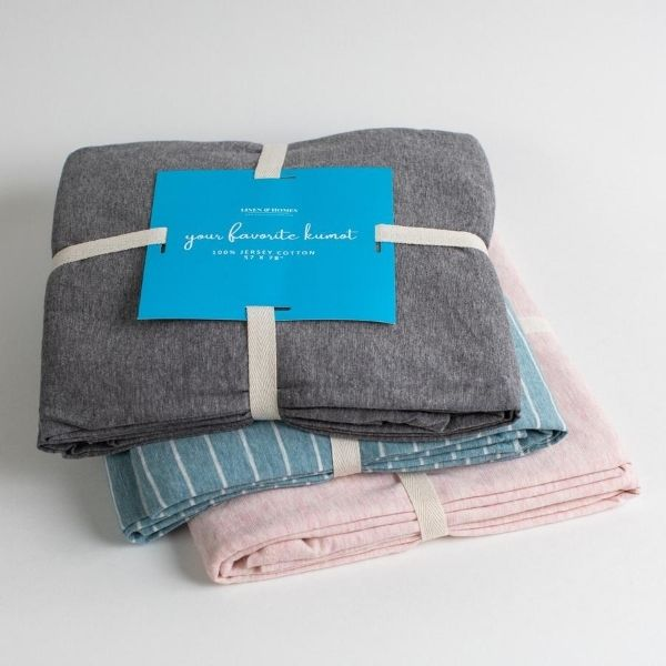 100% Jersey Cotton Throw Blanket