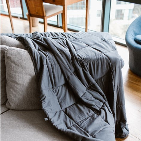 Tranquility Weighted Blanket with 100% Bamboo Removable Cover (3 Available Sizes)