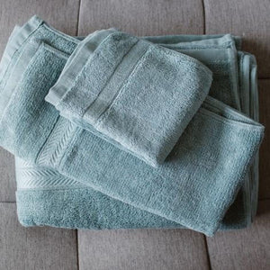 100% Bamboo Towel Turkish Blue