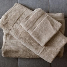 100% Bamboo Towel Tan
