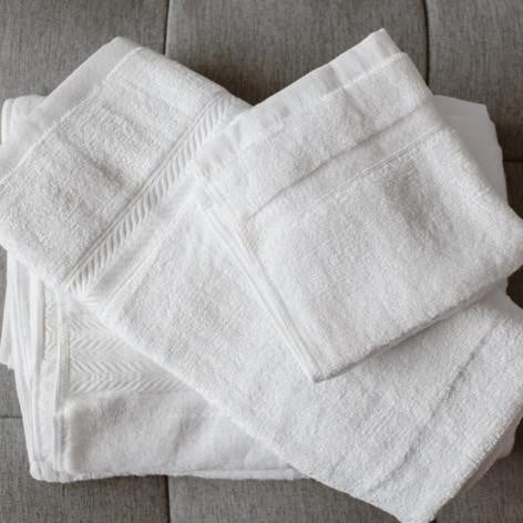 100% Bamboo Towel White
