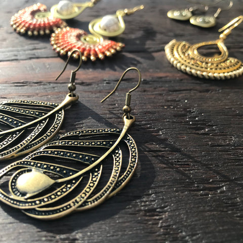 Brass-Works Earrings