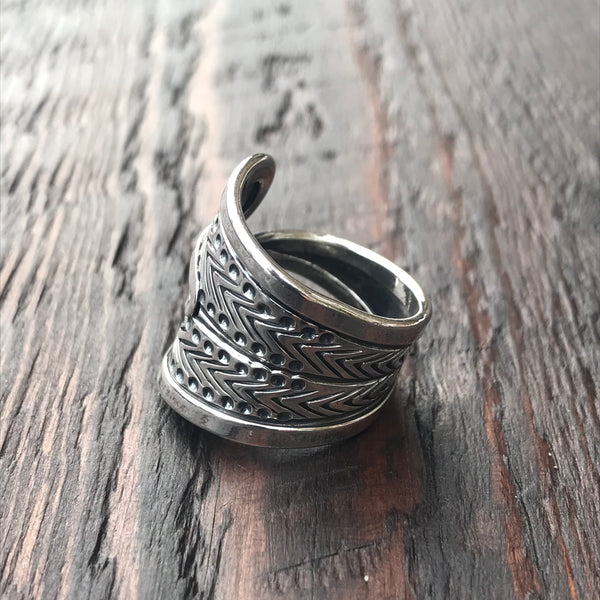 Aiyana Sterling Silver Ring
