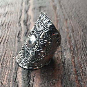 Oceloti Sterling Silver Ring
