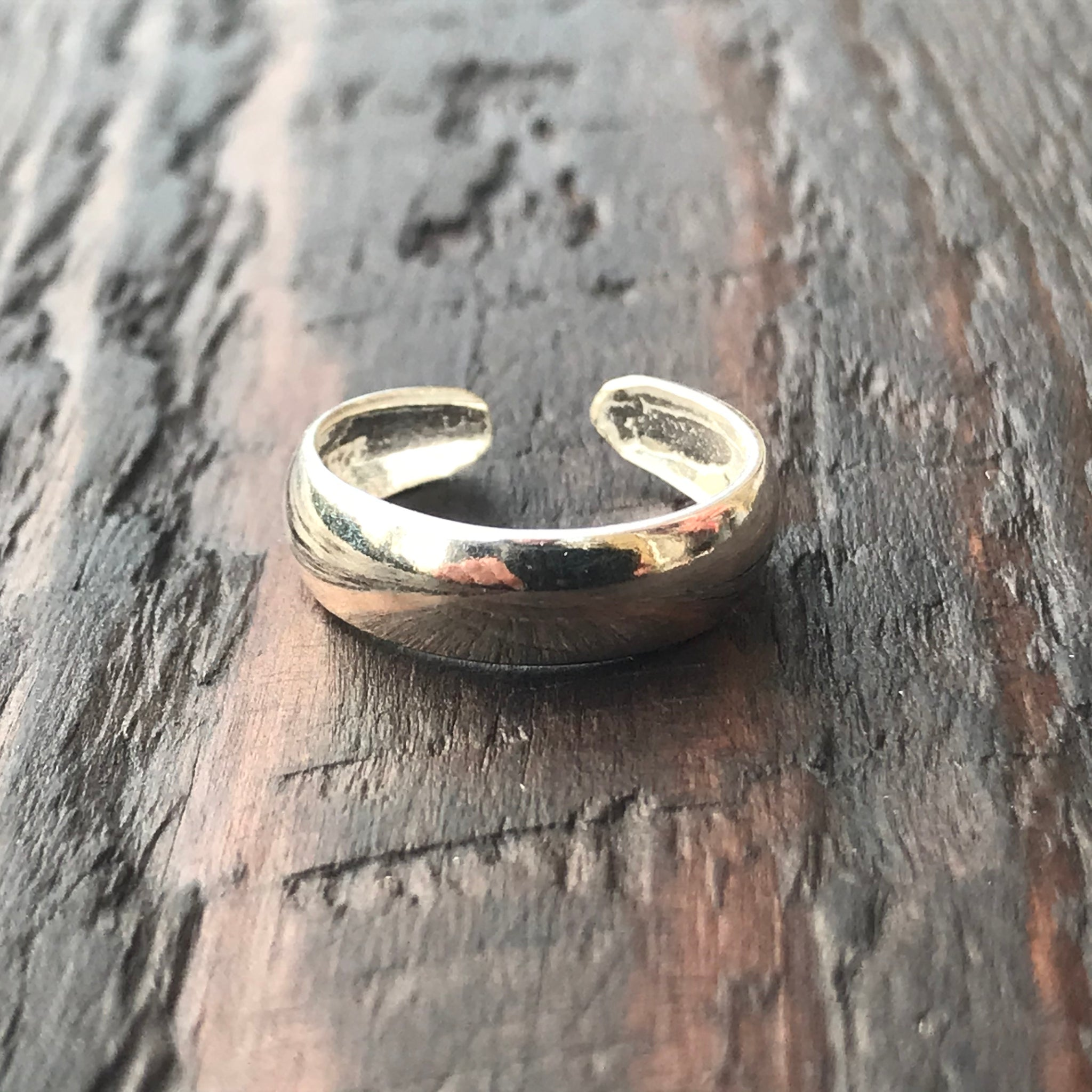 'Bare' Sterling Silver Toe Ring