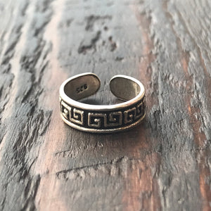 'Greek Goddess' Sterling Silver Toe Ring
