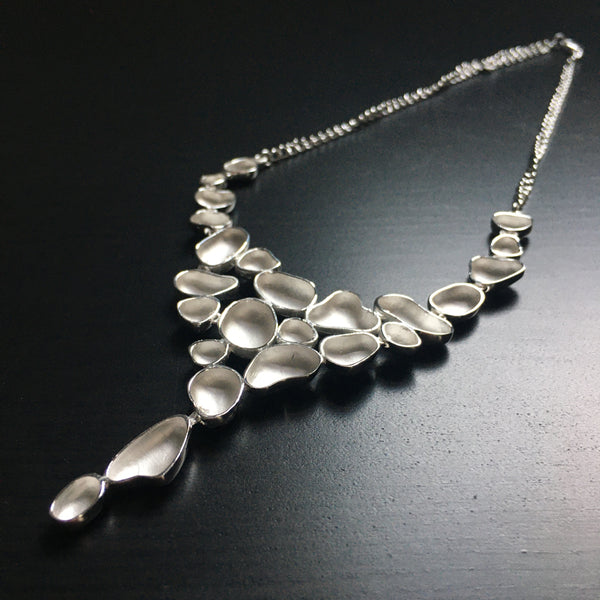 'Serenity' Sterling Silver Necklace