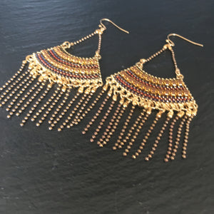 Losi Earrings (Amber)