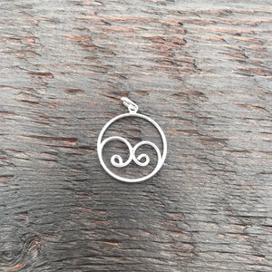 'Together' Sterling Silver Pendant