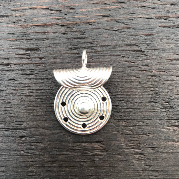 'Solstice' Sterling Silver Pendant