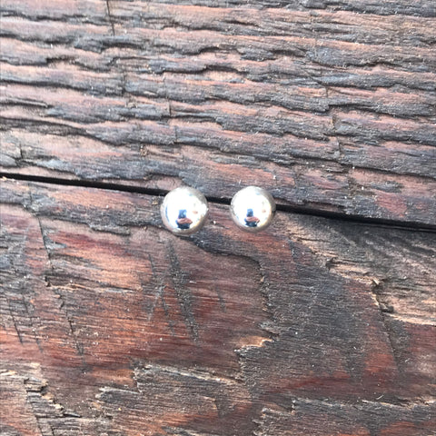 'Bare' Small Sterling Silver Studs