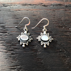 'Borobudur' Dawning Sterling Silver Drop Earrings