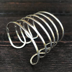 Utopia Cuff - Sterling Silver Zazen Bangle
