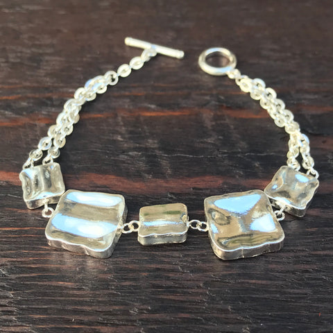 'Natura Water' Sterling Silver Bracelet