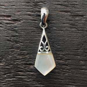 'Borobudur' Mother of Pearl Pendant