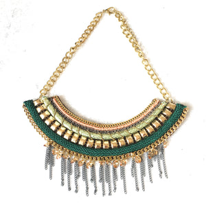 Modern Cleopatra Necklace
