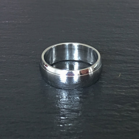 Grooved Edge Polished Band